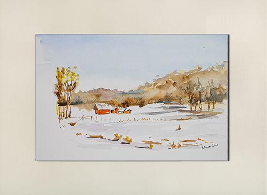 Winter in Odenheim