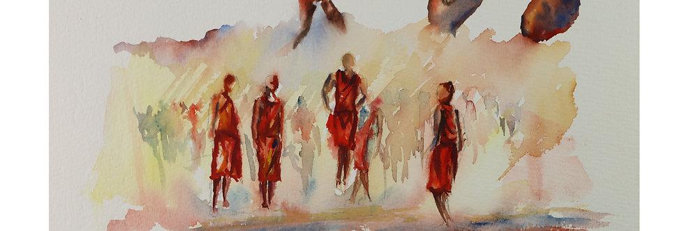 Maasai Initiation