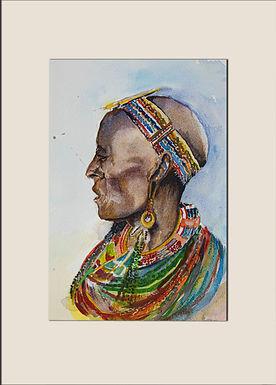 Old Maasai Woman