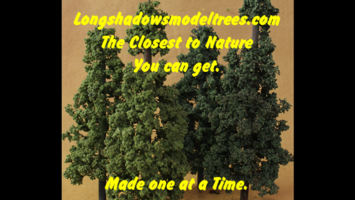 Longshadows Model Trees New Line Deciduous Trees