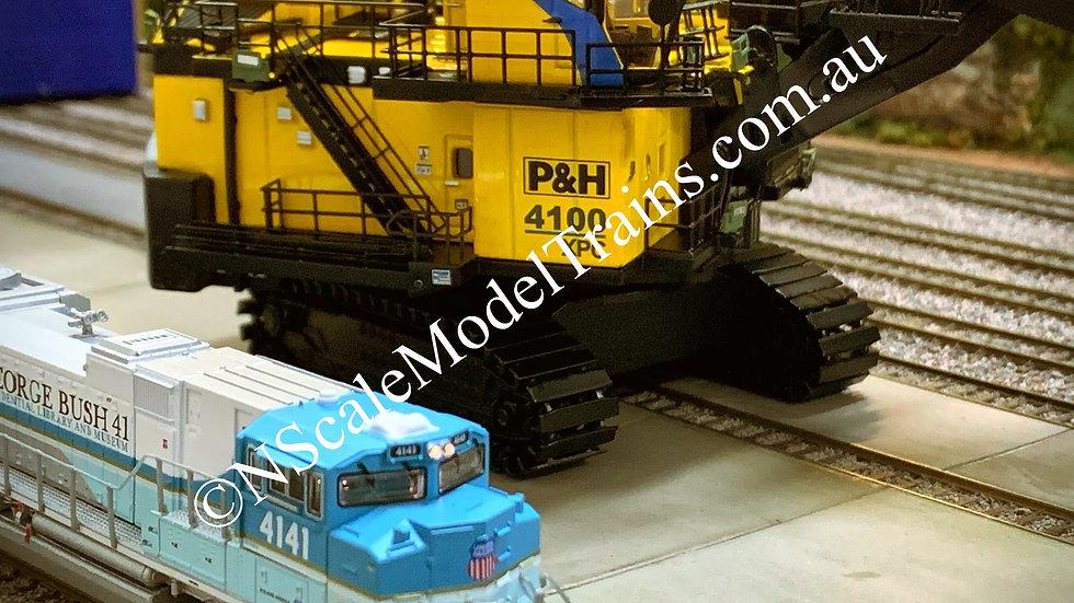 P&H Komatsu 4100XPC Electric Mining Shovel N Scale 1:160