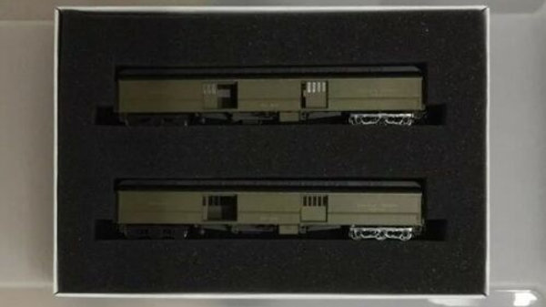 Wheels Of Time N Scale Southern Pacific Heavyweight Baggage 2 Car Set 247TS