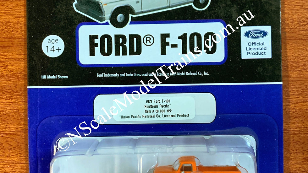 Atlas N Scale 1973 Ford F-100 Southern Pacific 2 pack
