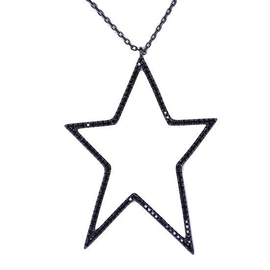 שרשרת כוכב חלול שחור
