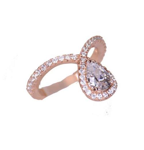 טבעת טיפה נופלת