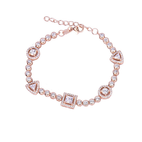 Stones tennis bracelet