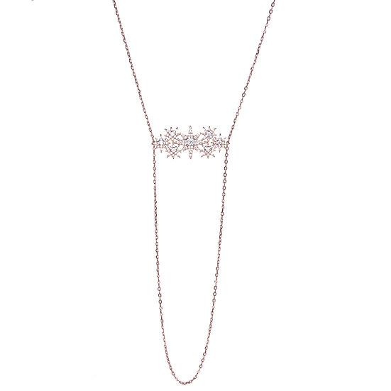 Close stars necklace