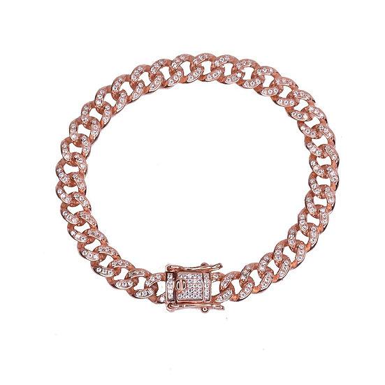 Gourmet bracelet full cz