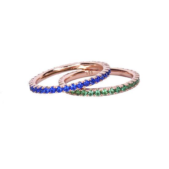 טבעת פס צבעוני