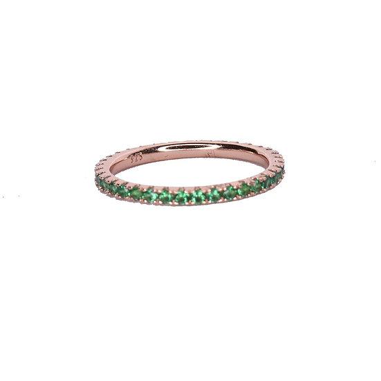 טבעת פס ירוק