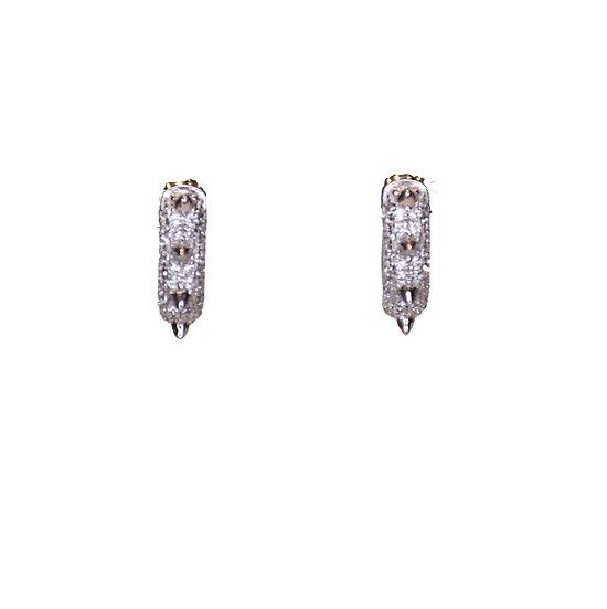 Spitz hoop earrings
