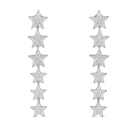 עגילי כוכבים נופלים