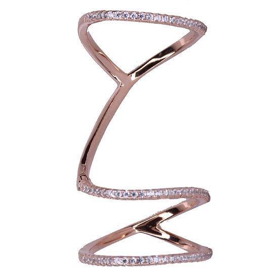 טבעת 3 פסים גמישה