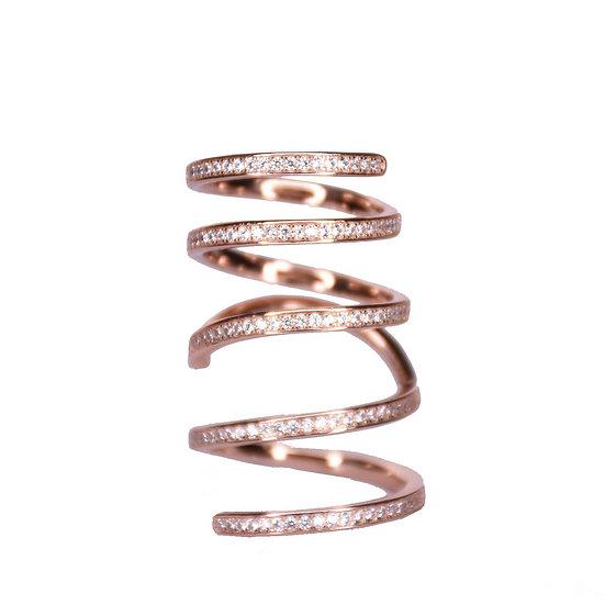 טבעת ספירלה גמישה
