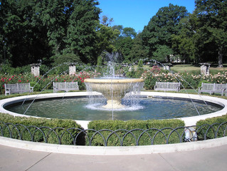 Laura Conyers Smith Rose Garden Fountain