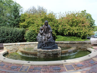 Chief Charles Bluejacket Memorial Fountain