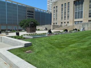 Sea Horse Fountain at Kansas City (MO) City Hall