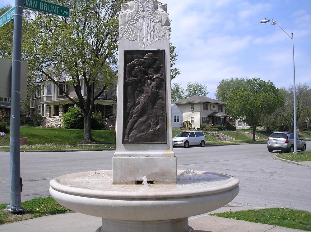 American Legion #1 Fountain, Photo by: Bradley Cramer