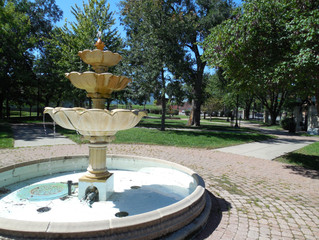Independence Plaza Park Fountains