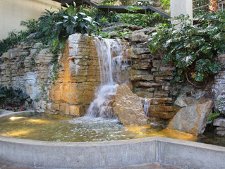 Westin Crown Center Fountain
