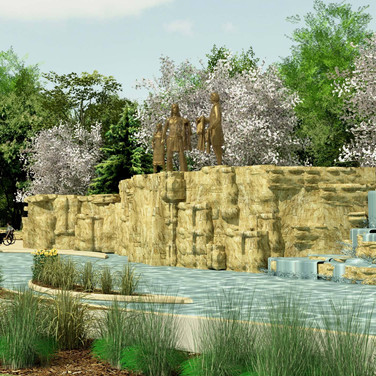 Proposed Chouteau Fountain