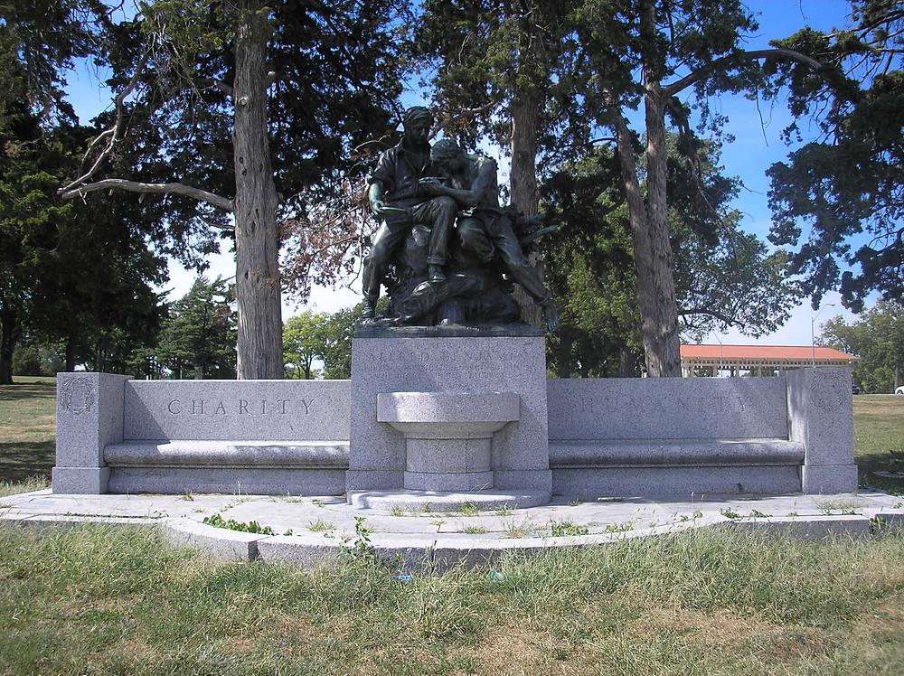 Alfred Benjamin Memorial, Photo by: Bradley Cramer