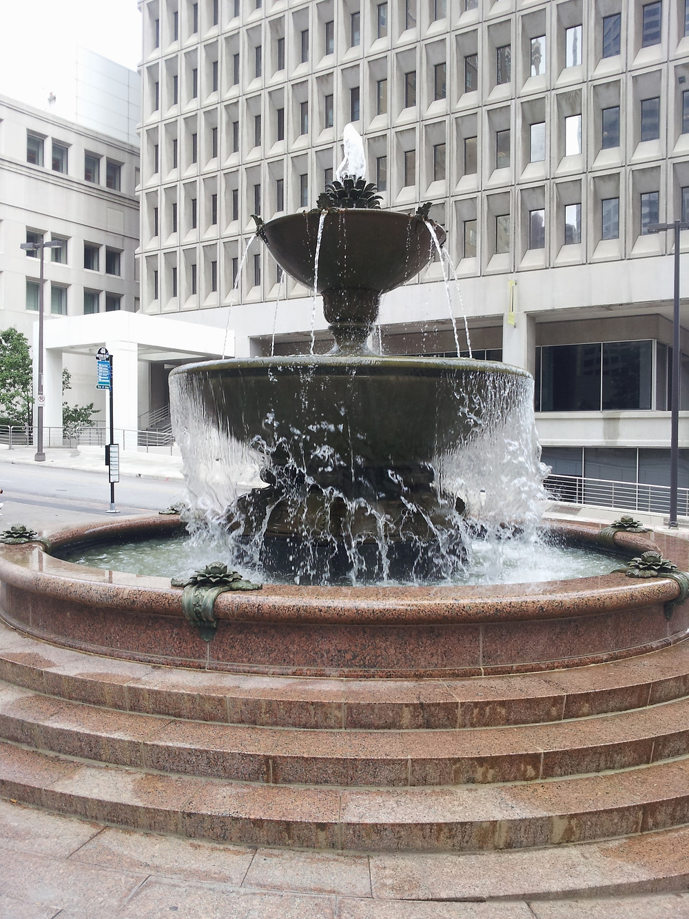 William & Charlotte Crosby Kemper Memorial Fountain, Photo by: Alexis Webb Bechtold