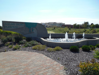 Adams Dairy Parkway Fountain