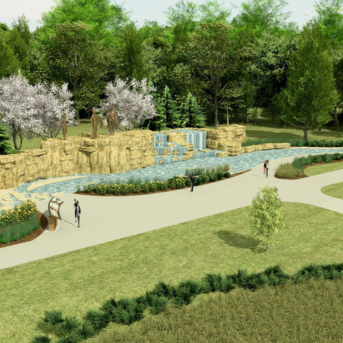 Proposed Chouteau Fountain