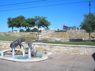 Merriam Bear Pit Fountain