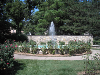 Helen Cuddy Rose Garden Fountain