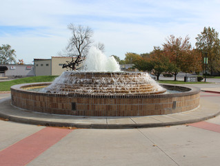 Grandview Veterans Memorial Fountain