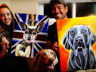 Paint your pets coming up this month!