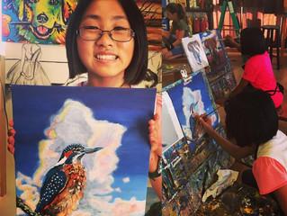 Mini masters making mini masterpieces! Enrolling NOW!