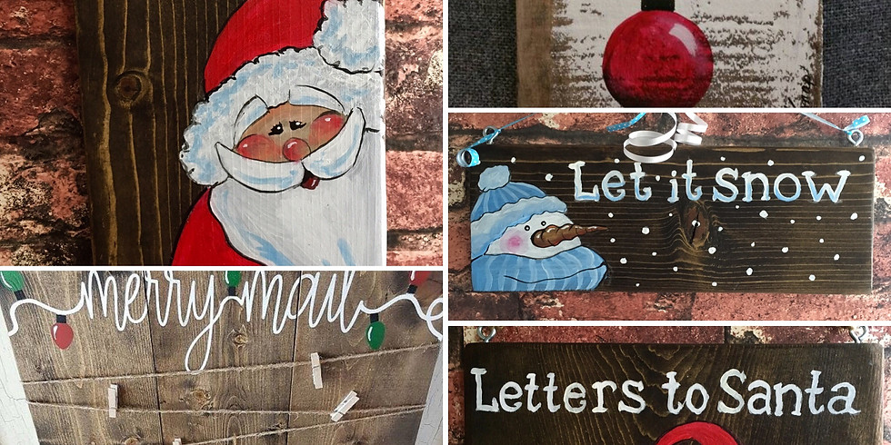 25%OFF! Let is Snow/Holiday Sign - Christmas Camp