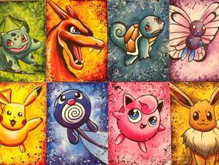 Pokemon.... Gotta paint em all!