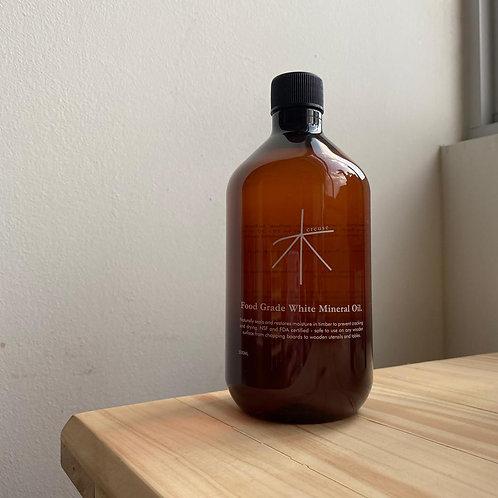Food Grade White Mineral Oil (500ml)