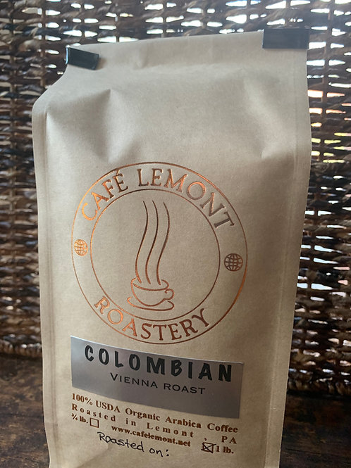 Colombian Vienna Roast (16 oz)