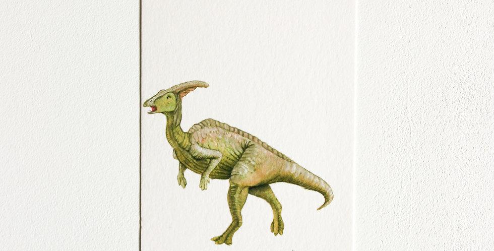 Gavelapp: Parasaurolophus