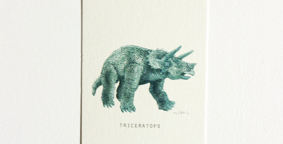 Gavelapp: Triceratops