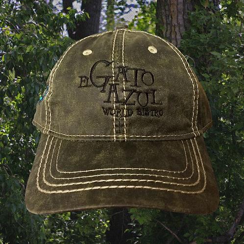 Dark Green Logo Hat