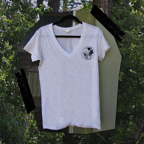 Women's Butte Logo V-Neck Tee