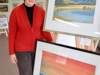 Lakeland Art Gallery Artist of the Month - Jill Lemon