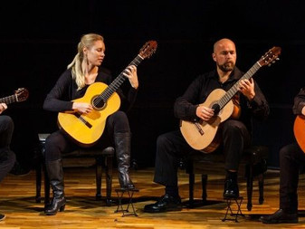 NZ Guitar Quartet - Two great locations in Selwyn