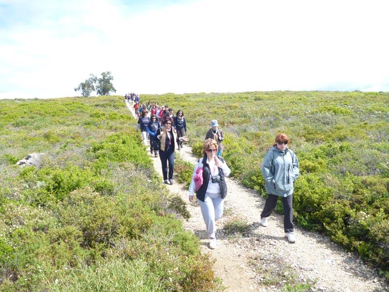 Caminhada solidaria Cercizimbra - Sesimbra -29-04-2012