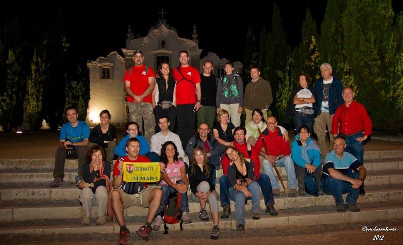 caminhada noturna de Verao Capuchos - 01-06-2012