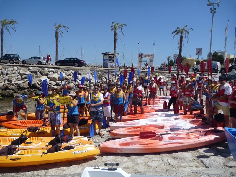 canoagem alto mar - 22-07-2012