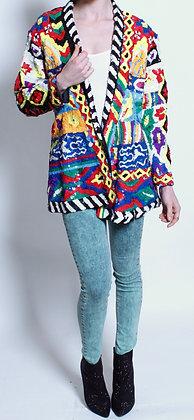 Gina G 80's sequin jacket