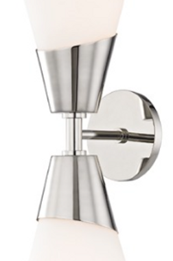 Cora Polished Nickel Sconce Mitzi by Hudson Valley