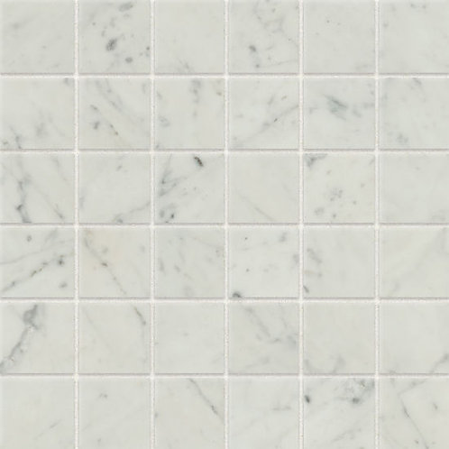 "Bianco Carrara 2""x 2"" - Classic 2.0 Collection"